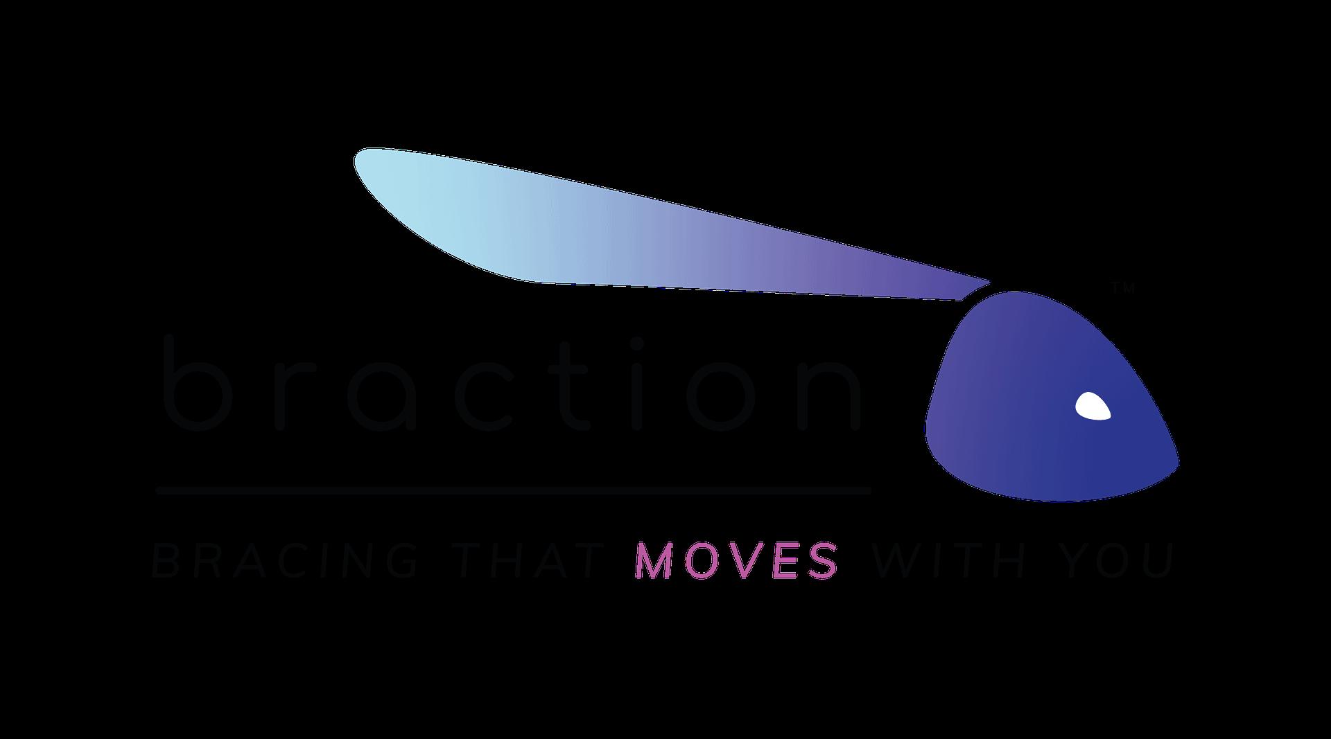 Braction Logo With Tagline