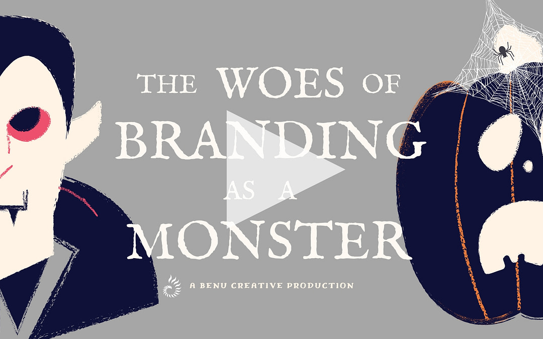 The Woes of Branding and Marketing as a Monster [Video]