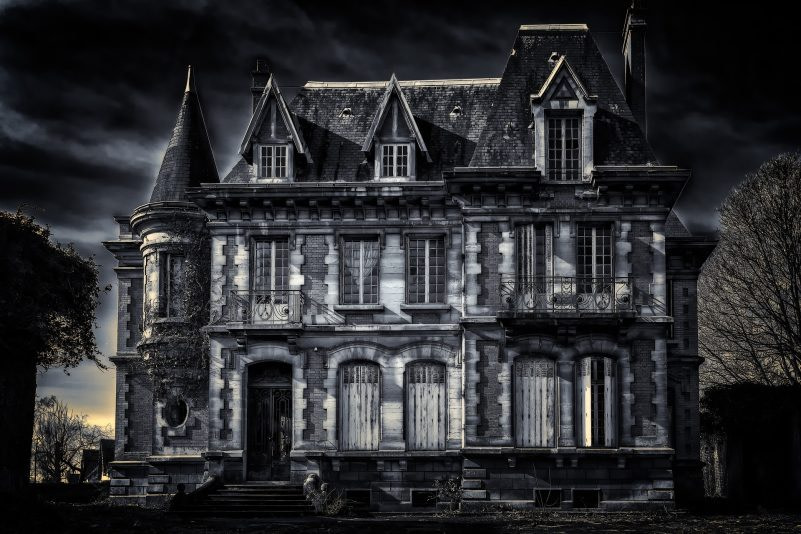 Haunted House Benu Creative Overcoming Fears Blog
