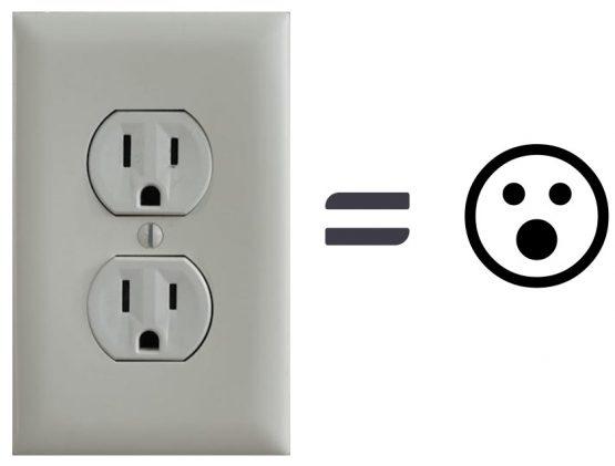 Light Socket Face Imagery
